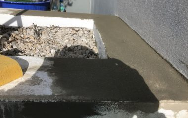 Cement Rendering on Floor