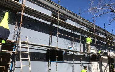 scaffolding for rendering services