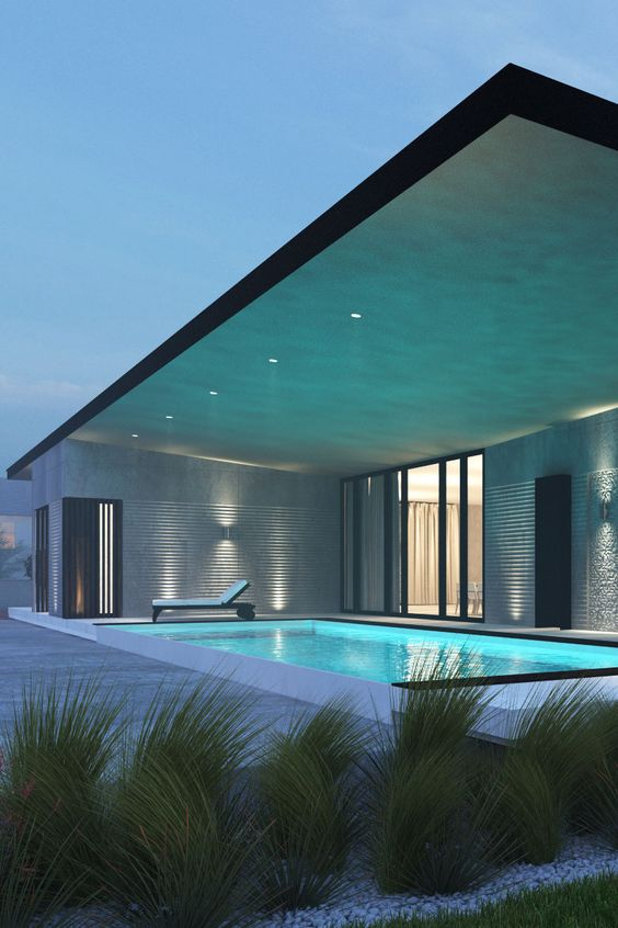 Swimming Pool Rendering Services